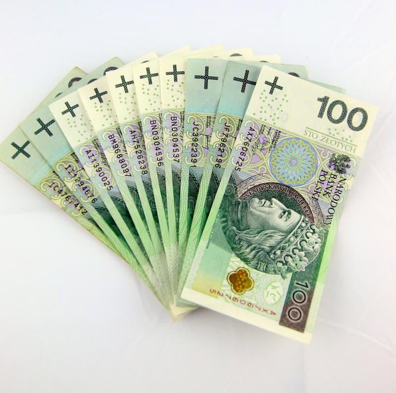 Mille PLN image stock