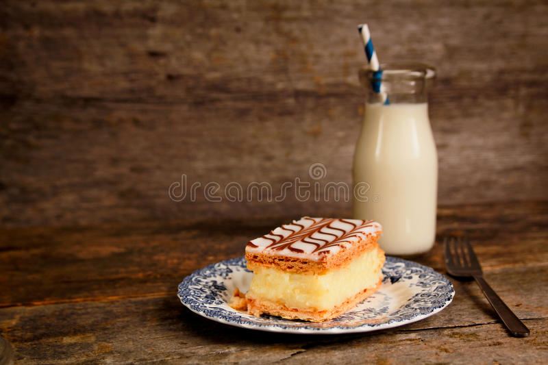 Millefeuille immagine stock