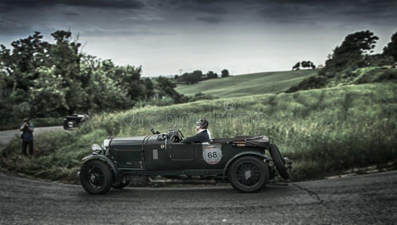 Millemiglia 2015 BENTLEY 4 5 Liter jaagde 1930 aan stock foto
