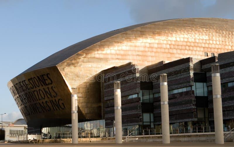 Millenium centre stock image