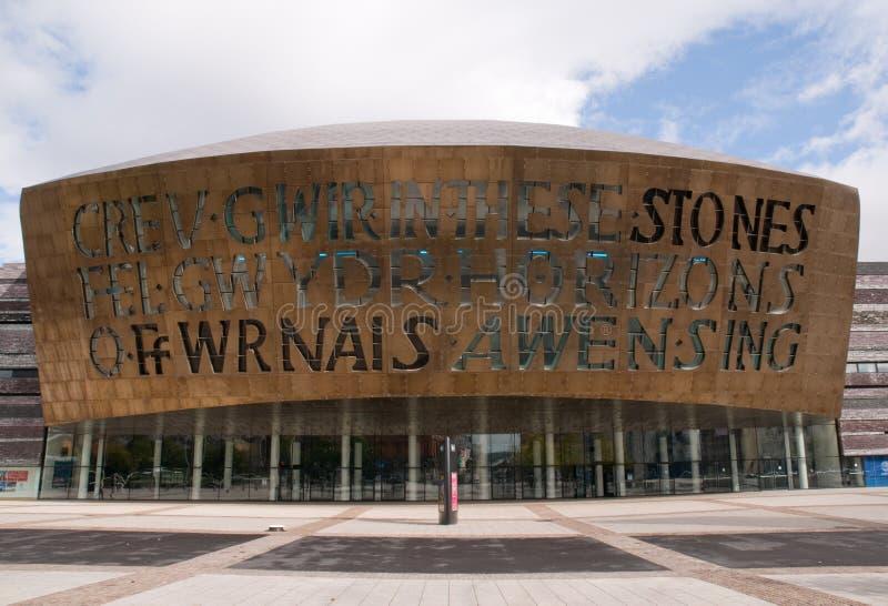 Download Millenium Centre, Cardiff stock photo. Image of building - 21306140