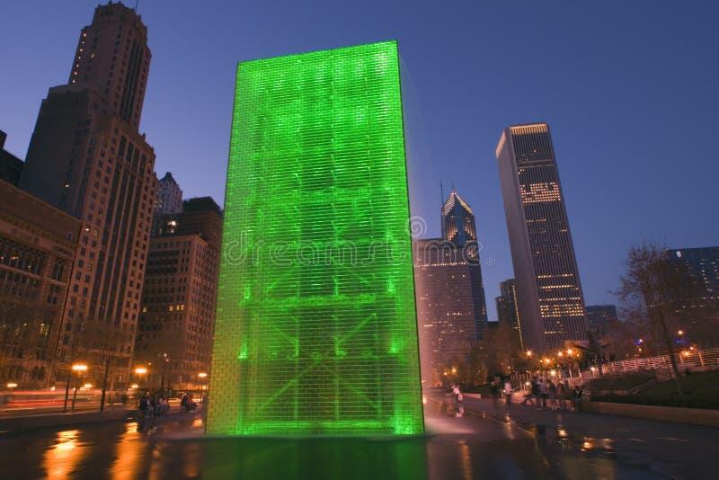 Millenium Park, Chicago royalty free stock photos