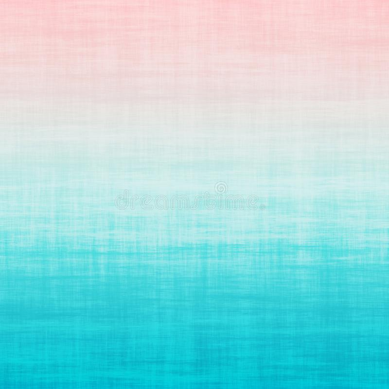 Millennial Pink Aqua Blue Teal Ombre Grunge Gradient Pastel Background. Ombre Millennial Pink Aqua Blue Teal Grunge Gradient Pastel Background Purple teal stock illustration