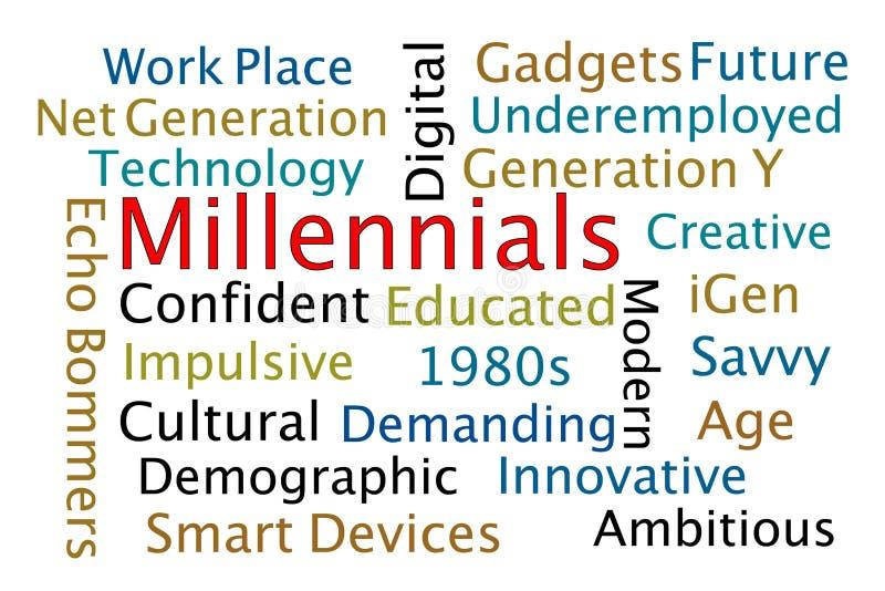 Millennials stock afbeeldingen