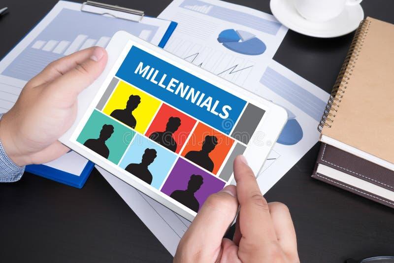 Millennials fotografia royalty free
