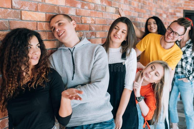 Millennials-Vorstellungsgespr?ch-Termin stockfoto