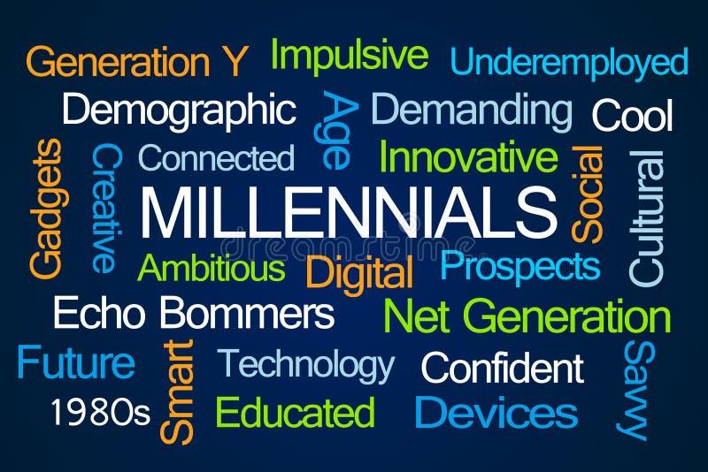 Millennialsword Wolk vector illustratie