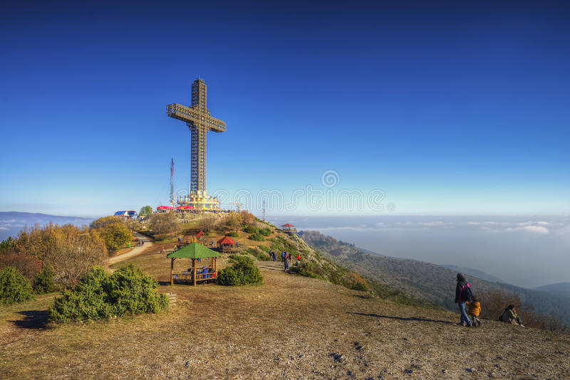 The Millennium Cross royalty free stock images