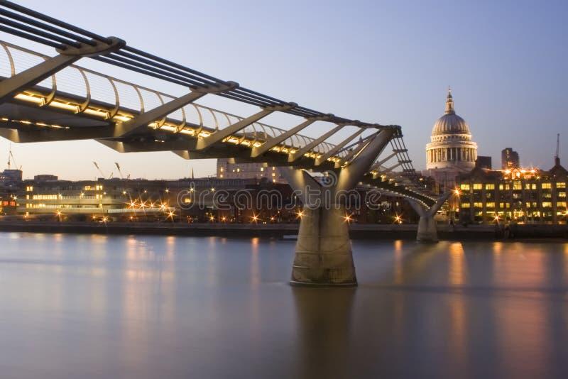 millennium mostu zdjęcie royalty free
