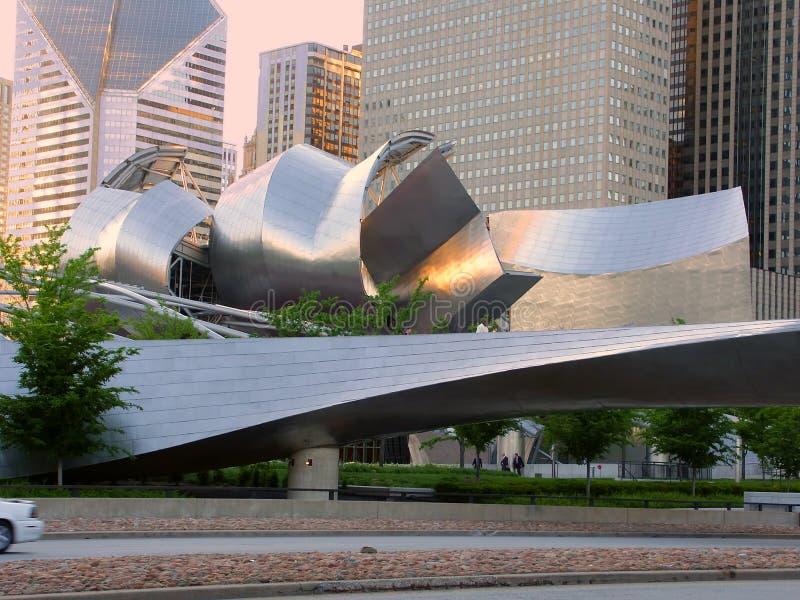 Millennium Park Chicago Illinois stock image