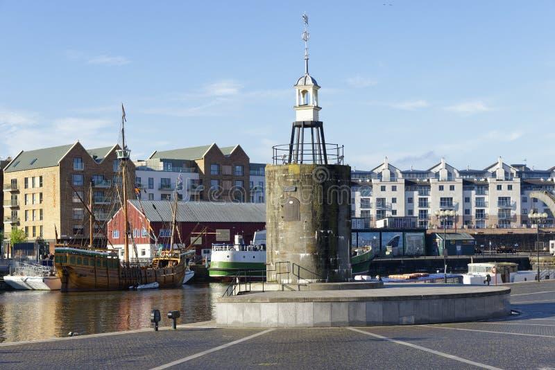 Millennium Square Landing, Bristol Docks royalty free stock images