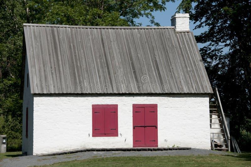 Miller's haus- Ile Perrot - Kanada lizenzfreie stockbilder
