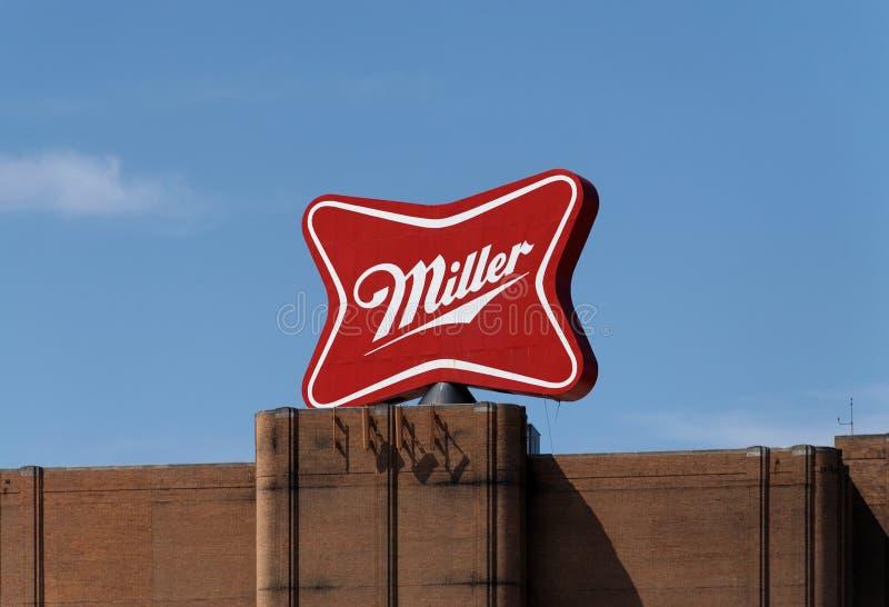 Miller Brewery Complex royaltyfri fotografi
