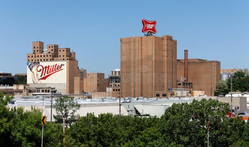 Miller Brewery Complex stockfotos