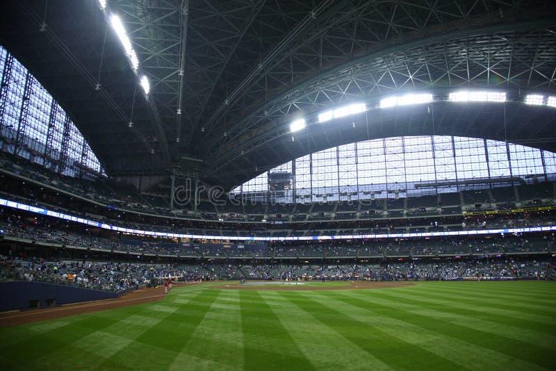 Miller-Park - Milwaukee Brewers stockfotografie