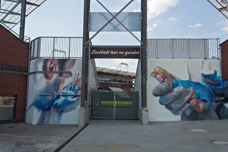 Download Millerntor Stadium, Hamburski Niemcy Obraz Editorial - Obraz złożonej z futbol, sport: 57658415