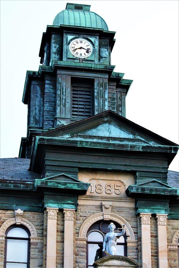 Millersburg Ohio en el país de Amish fotos de archivo