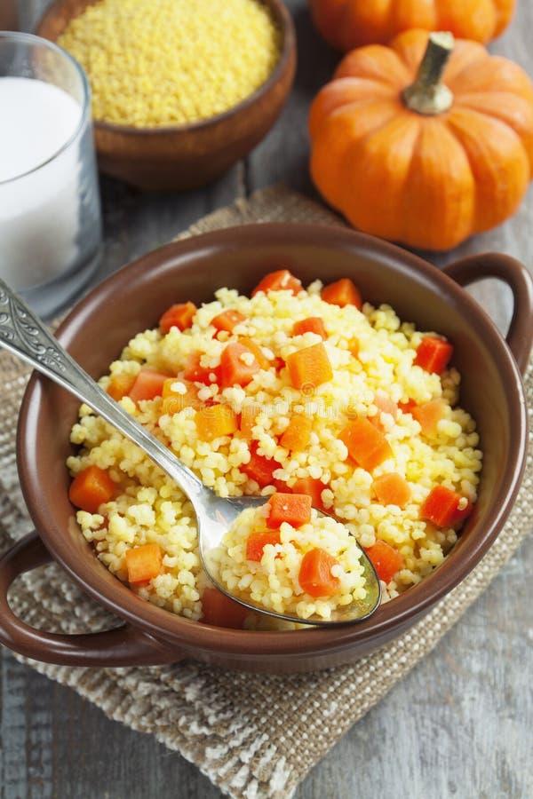 Download Millet Porridge With Pumpkin Stock Photo - Image: 37112500