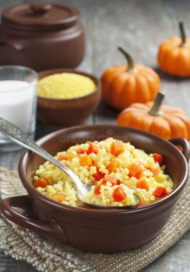 Download Millet Porridge With Pumpkin Stock Photo - Image of cooking, meal: 37112582