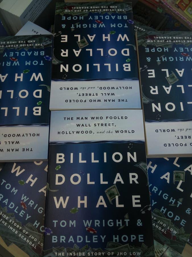 Milliard de baleine du dollar image stock