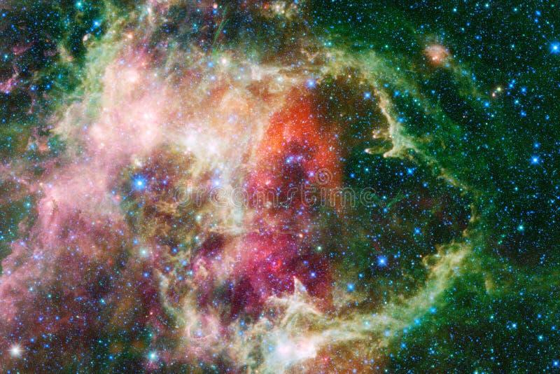 Milliards de galaxies dans l'univers Fond abstrait de l'espace photo libre de droits