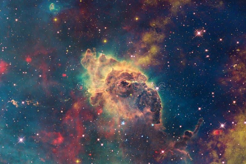 Milliards de galaxies dans l'univers Fond abstrait de l'espace image stock