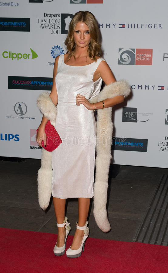 Millie Mackintosh. Arriving for the Drapers Fashion Awards at the Grosvenor House Hotel in London. 16/11/2011 Picture by: Simon Burchell / Featureflash stock photography
