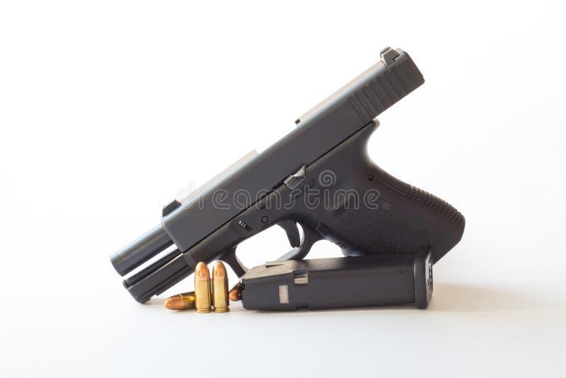 38 Millimeter-Kaliberpistole lizenzfreie stockfotografie