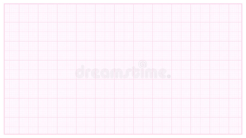 Millimeter Paper Vector. Pink. Graphing Paper For Technical Engineering Projects. Grid Paper Measure Illustration. Millimeter Paper Vector. Pink. Graphing Paper royalty free illustration