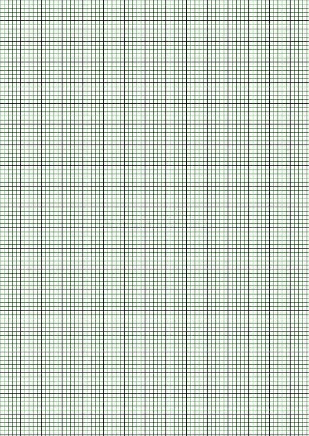 Millimeterpapier royalty-vrije stock afbeelding