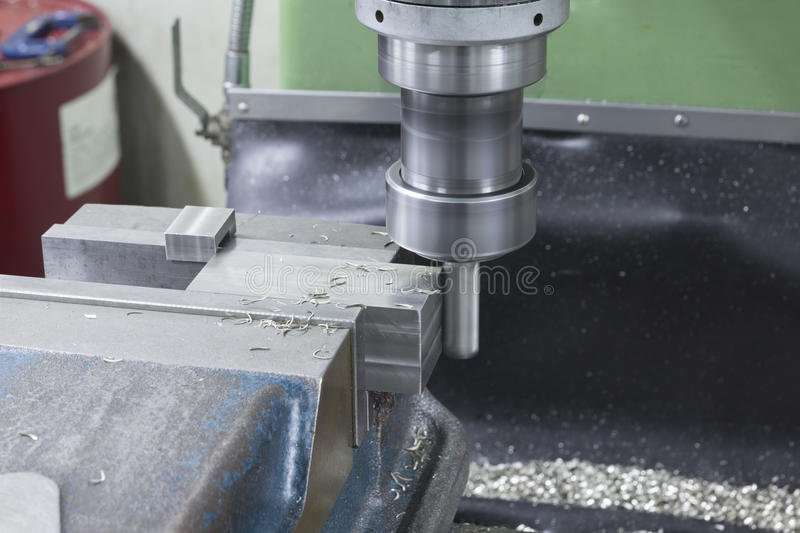 Milling machine drill side stock images