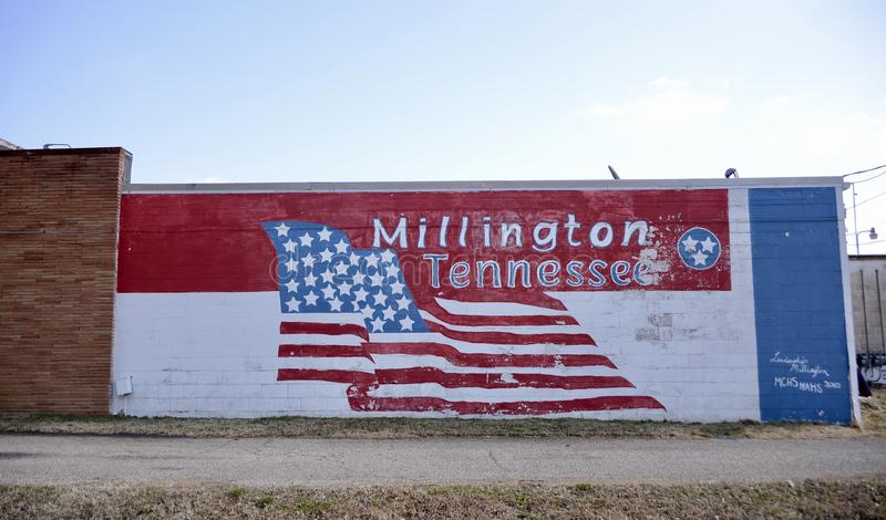 Millington Tennessee Painting photographie stock