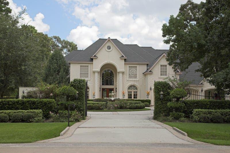 Million Dollar Homes Series stock photo