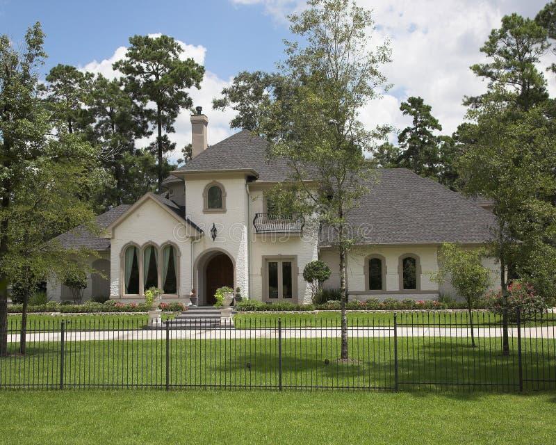 Million Dollar Homes Series Stock Image