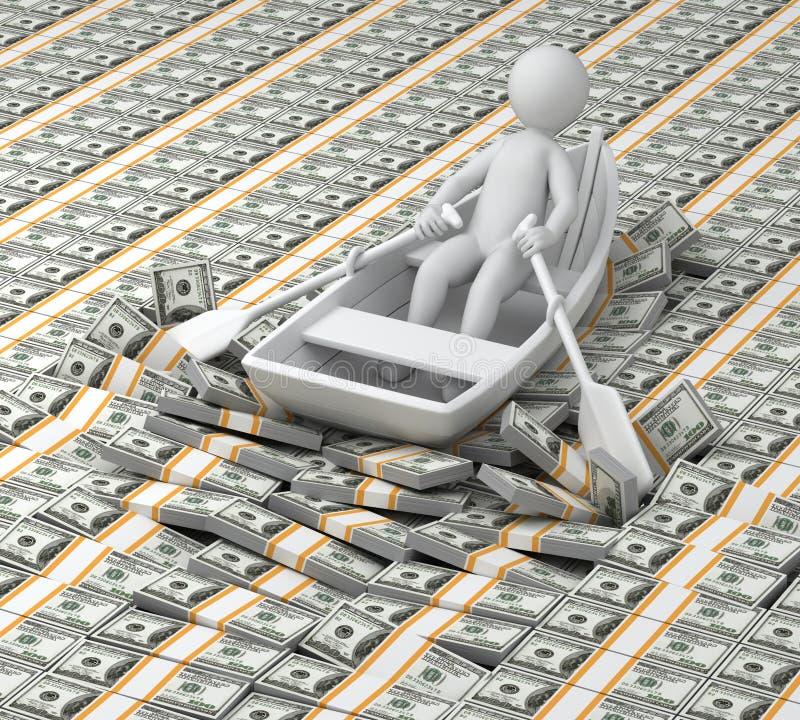 Millionnaire illustration stock