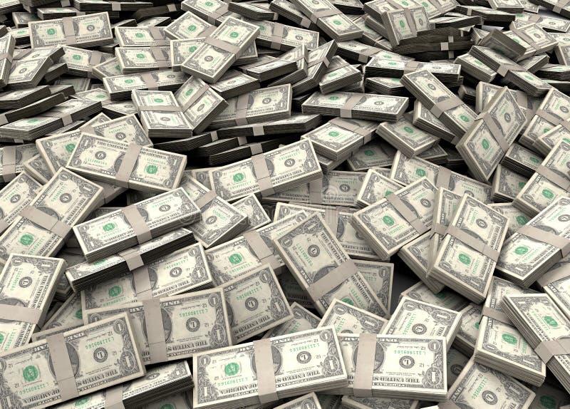 Millions de dollars images libres de droits