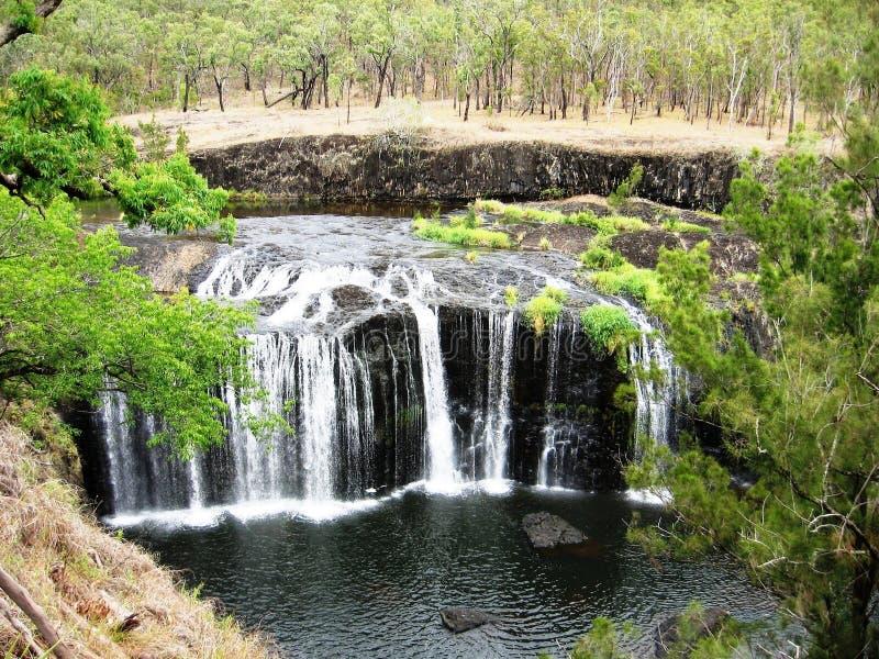 Millstream cai planaltos de Atherton imagens de stock royalty free