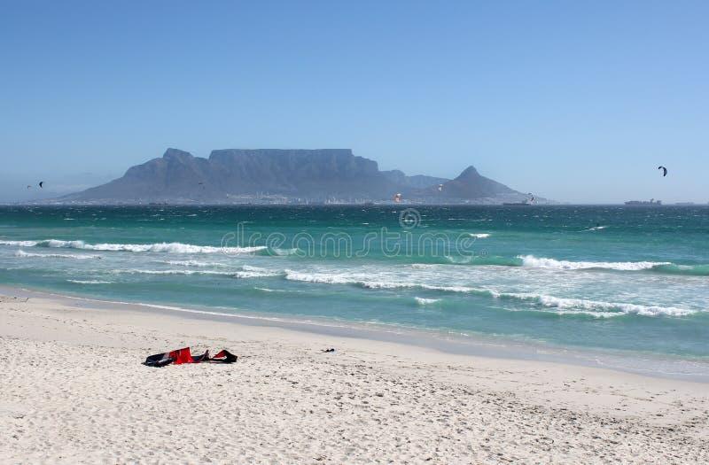 Milnerton Strand in Kapstadt lizenzfreie stockbilder