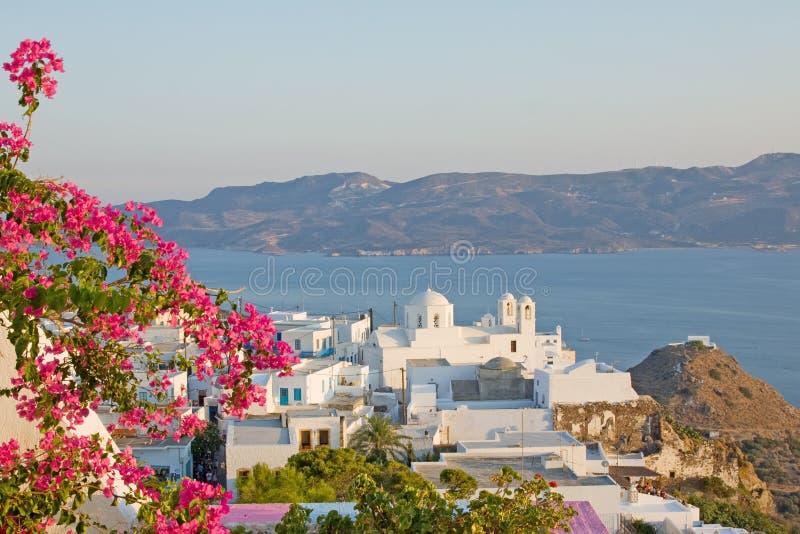 Milos console, Greece imagens de stock