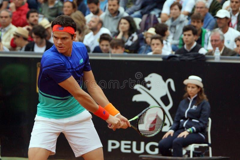 Milos Raonic (POSSA) fotos de stock royalty free