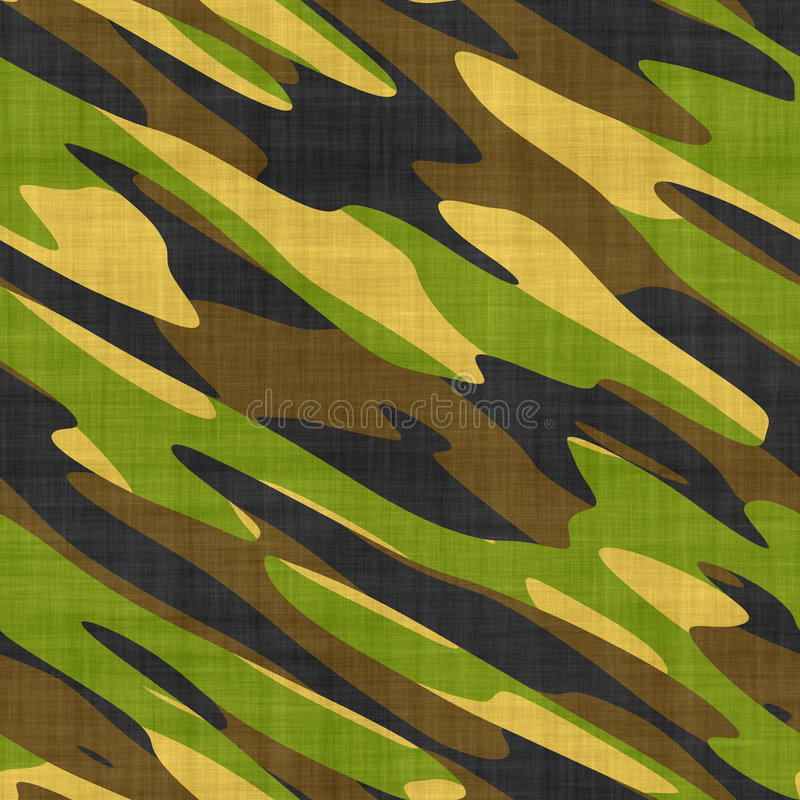 Download Miltary camo stock illustration. Illustration of fatigues - 4981080