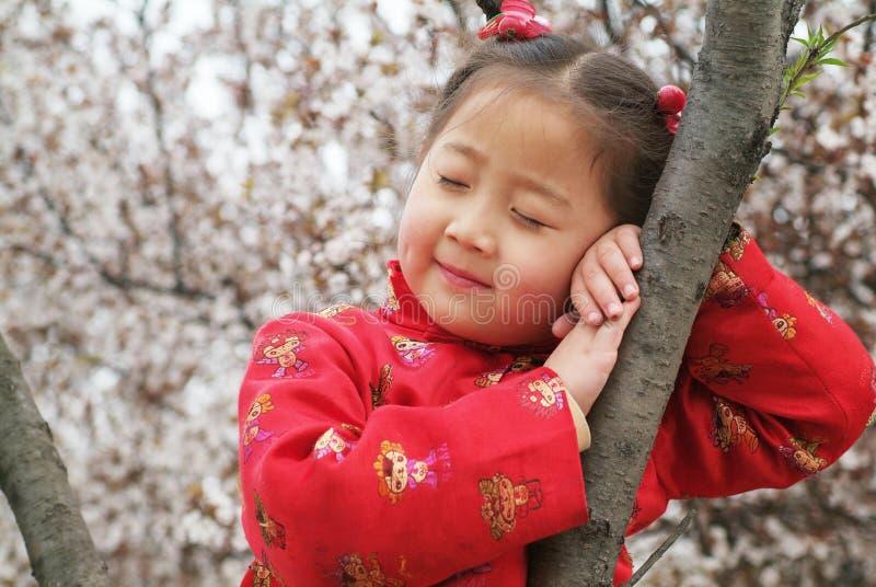 milutka chińska dziewczyna zdjęcie stock