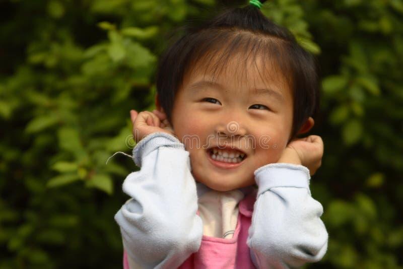 milutka chińska dziewczyna trochę obraz stock