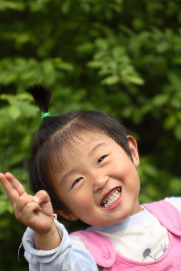 milutka chińska dziewczyna trochę fotografia stock