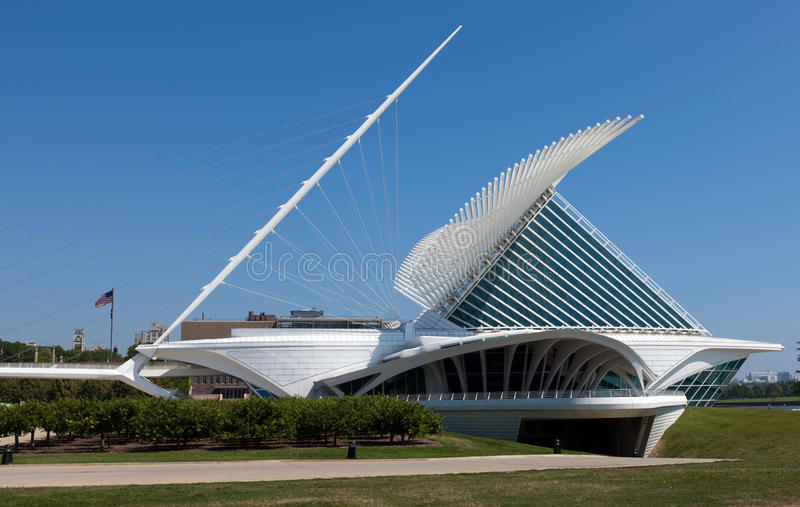 Milwaukee Art Museum lizenzfreies stockfoto
