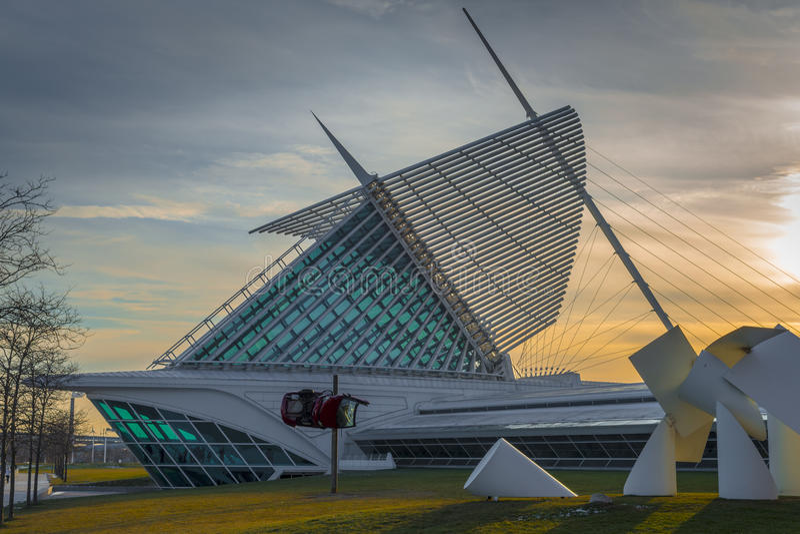 Milwaukee Art Museum photographie stock libre de droits