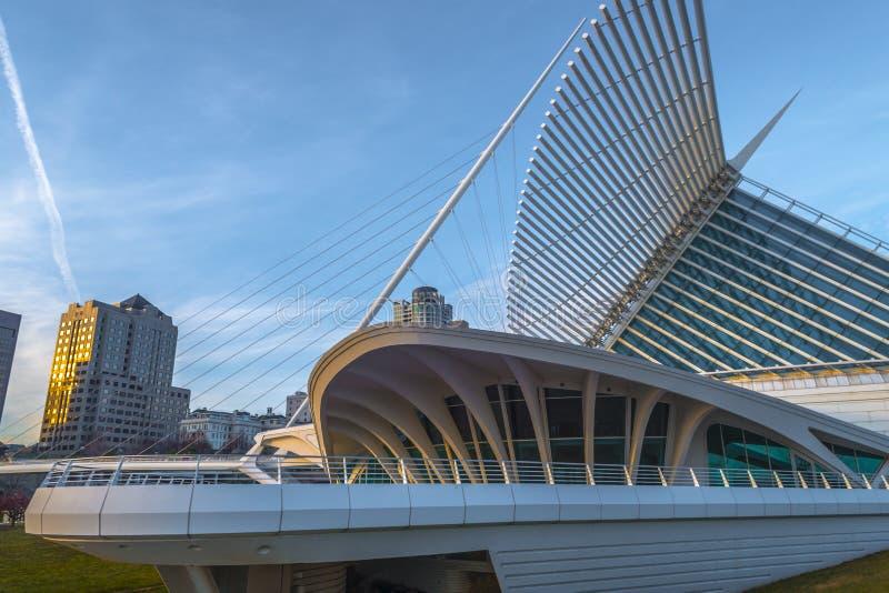 Milwaukee Art Museum lizenzfreie stockfotos