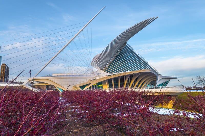 Milwaukee Art Museum lizenzfreie stockbilder