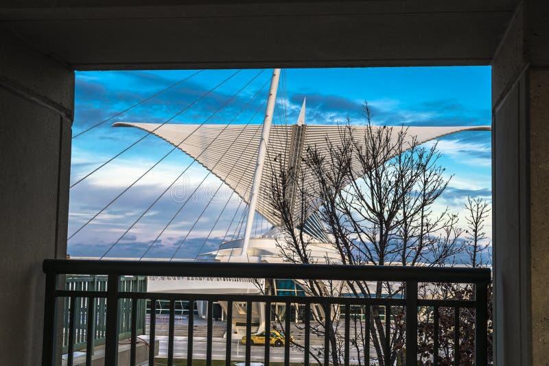 Milwaukee Art Museum stockbild