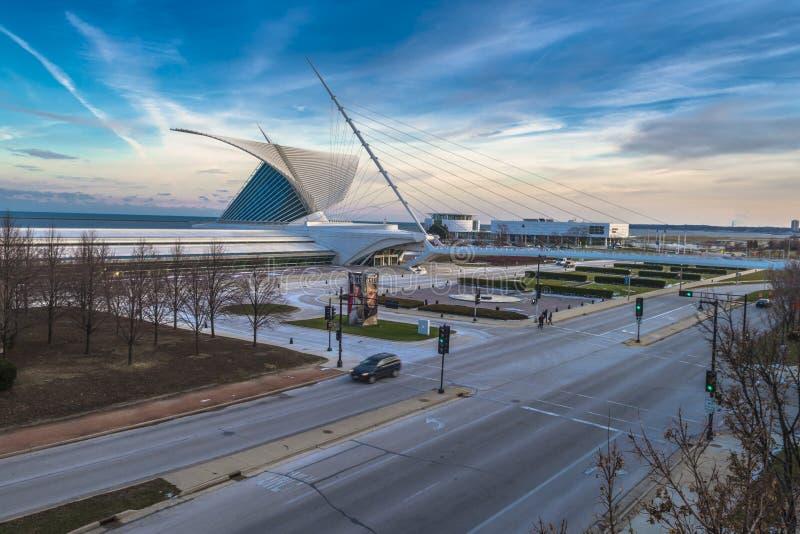 Milwaukee Art Museum stockfotografie